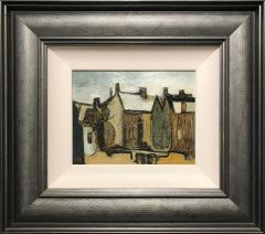 Geoffrey Key Salford Houses 71 Landscape Painting