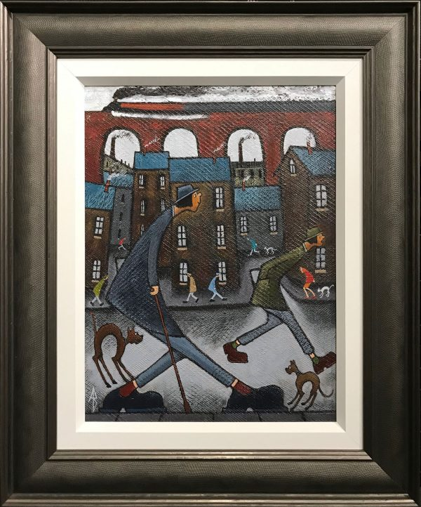 Albert Barlow Best Foot Forward Original Painting
