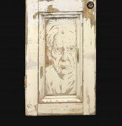 Jamie Green Artist - Carved Door 2