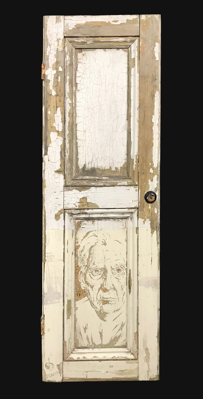 Jamie Green Artist - Carved Door