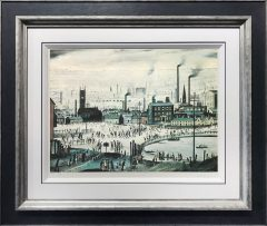 L S Lowry – Industrial Town – Signed Limited Edition Print