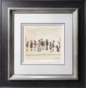 L S Lowry – Group of Children – Signed Limited Edition Print