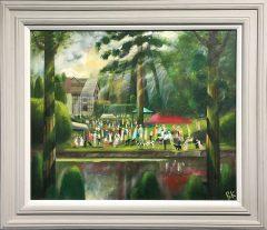 Ben Kelly Gawsworth Hall Garden Party