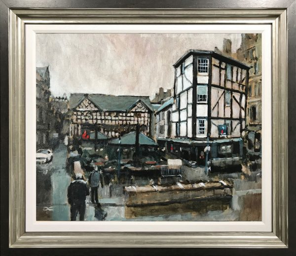 David Coulter The Shambles Original Painting for sale