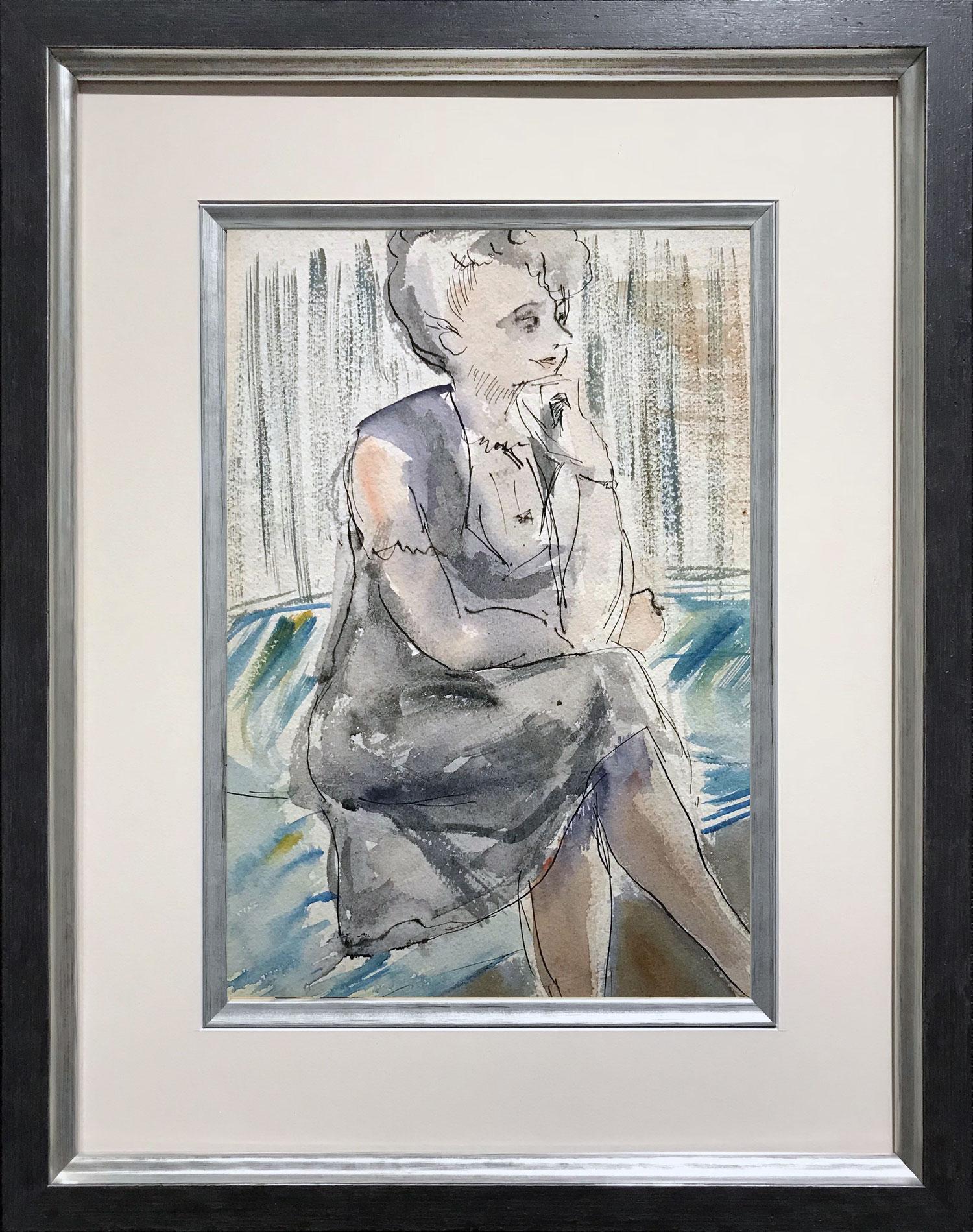 Alan Lowndes Portrait of Sister