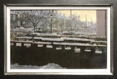 Ken Howard – Winter Gardens Original Painting