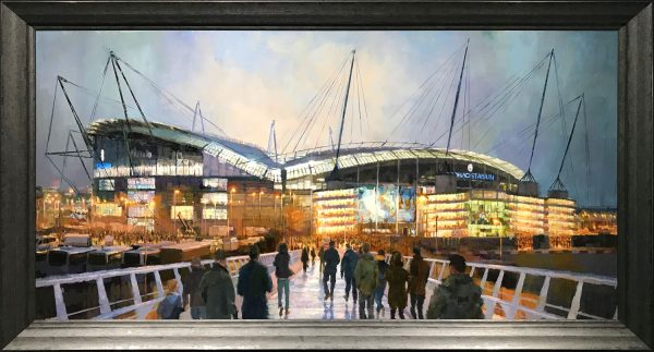 Louis Smith Field of Dreams, Etihad Original Oil Painting