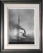 Trevor Grimshaw Factories Original Drawing for Sale