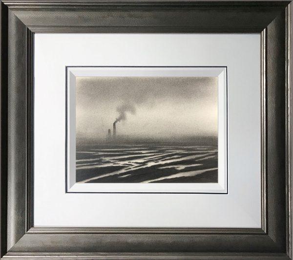Trevor Grimshaw Waste Land Original Drawing for Sale