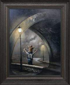 Bob Barker Original Painting for sale Glory Days