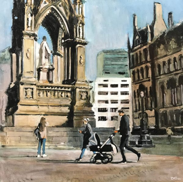 DAVE COULTER - PRAM PAST ALBERTS