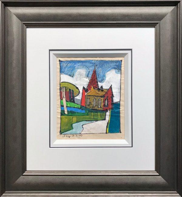 GEOFFREY KEY - CHURCH LANDSCAPE
