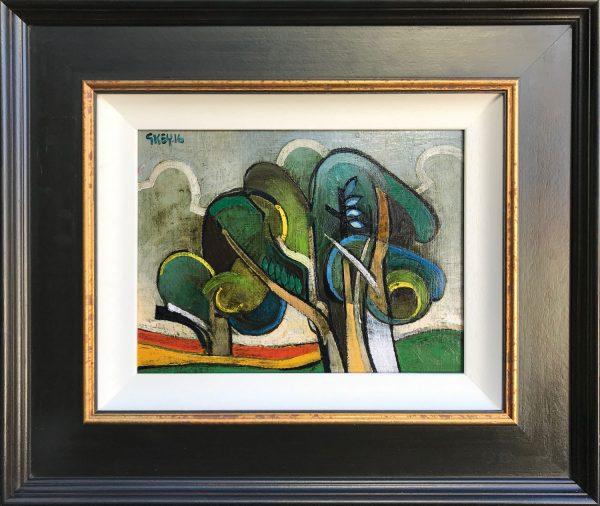 Geoffrey Key Dance Grove Original Oil Painting for Sale