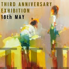 THIRD ANNIVERSARY MIXED EXHIBITION - 18 MAY 2019