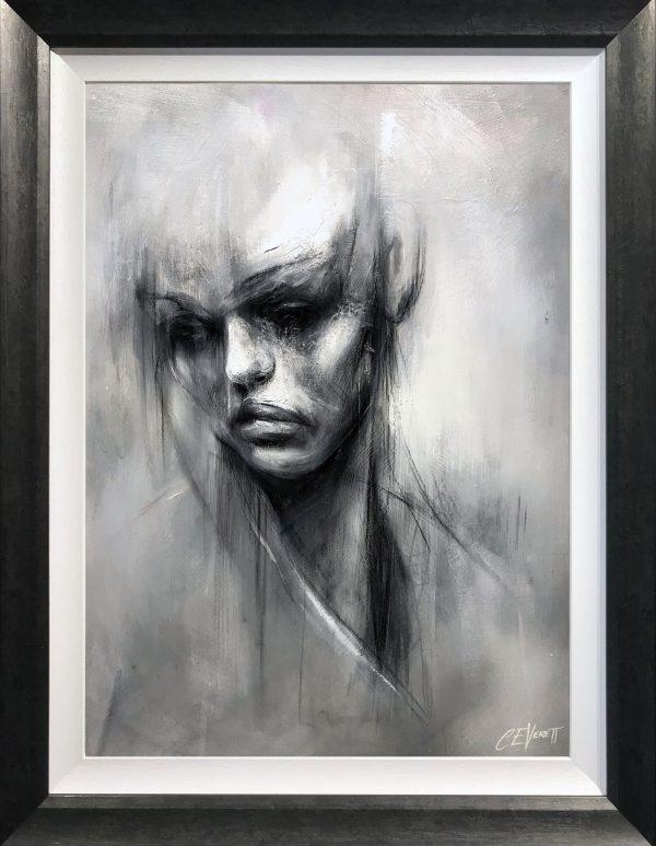 Craig Everett Head Study Original Painting for Sale