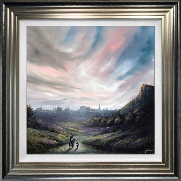 Danny Abrahams Original Painting Edinburgh Tales