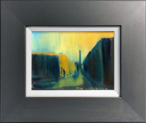 Hugh Winterbottom Sunset with Figure