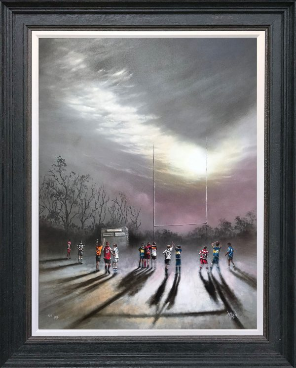 Bob Barker - Where there's a Will there's a Way - Hand Embellished Print