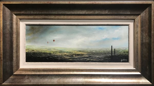 Danny Abrahams Original Painting On Top of the World