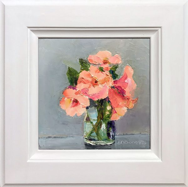 Judith Donaghy Roses Original Painting