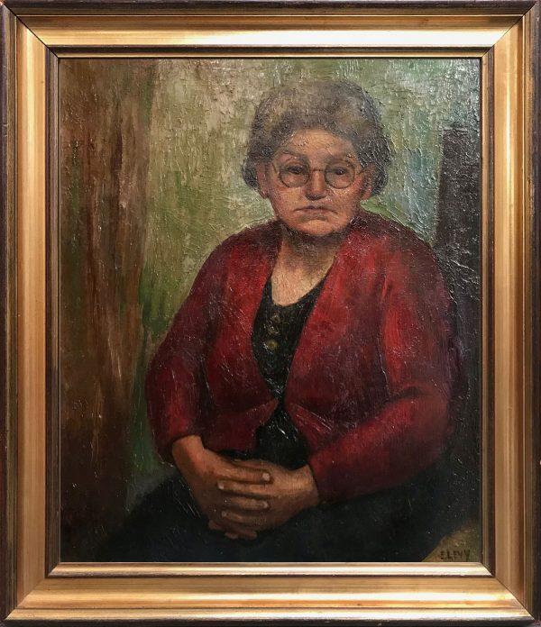 Emmanuel Levy - Artists Mother