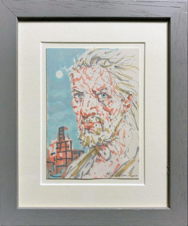 Peter Howson - Portrait