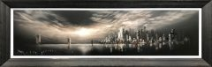 Bob Barker Original Painting for sale Manhattan Skyline