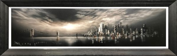 Bob Barker Original Painting for sale Manhattan Skyline