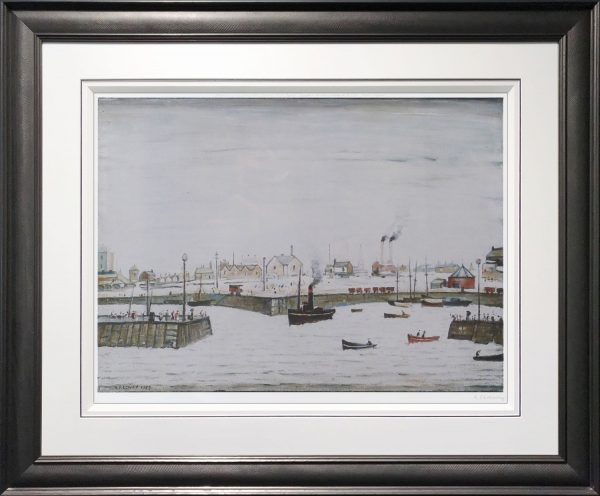 L S Lowry - The Harbour