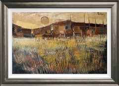 Peter Oliver - Autumnal Landscape Original Painting for Sale