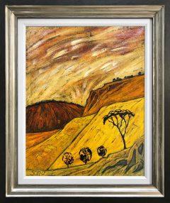 Steve Capper Southern Pennine Landscape Original Painting