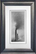 Trevor Grimshaw Smoke Study 1971 Original Drawing for Sale