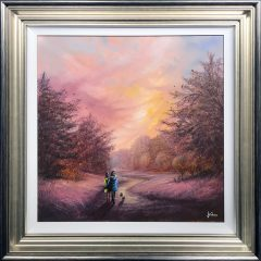 Danny Abrahams Original Painting You Make Everyday a Special Day