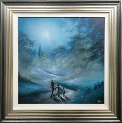 Danny Abrahams Original Painting Travelling First Class