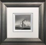 Trevor Grimshaw Smoking Chimneys Original Drawing for Sale