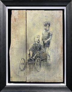 Craig Everett Bogie Original Painting for Sale