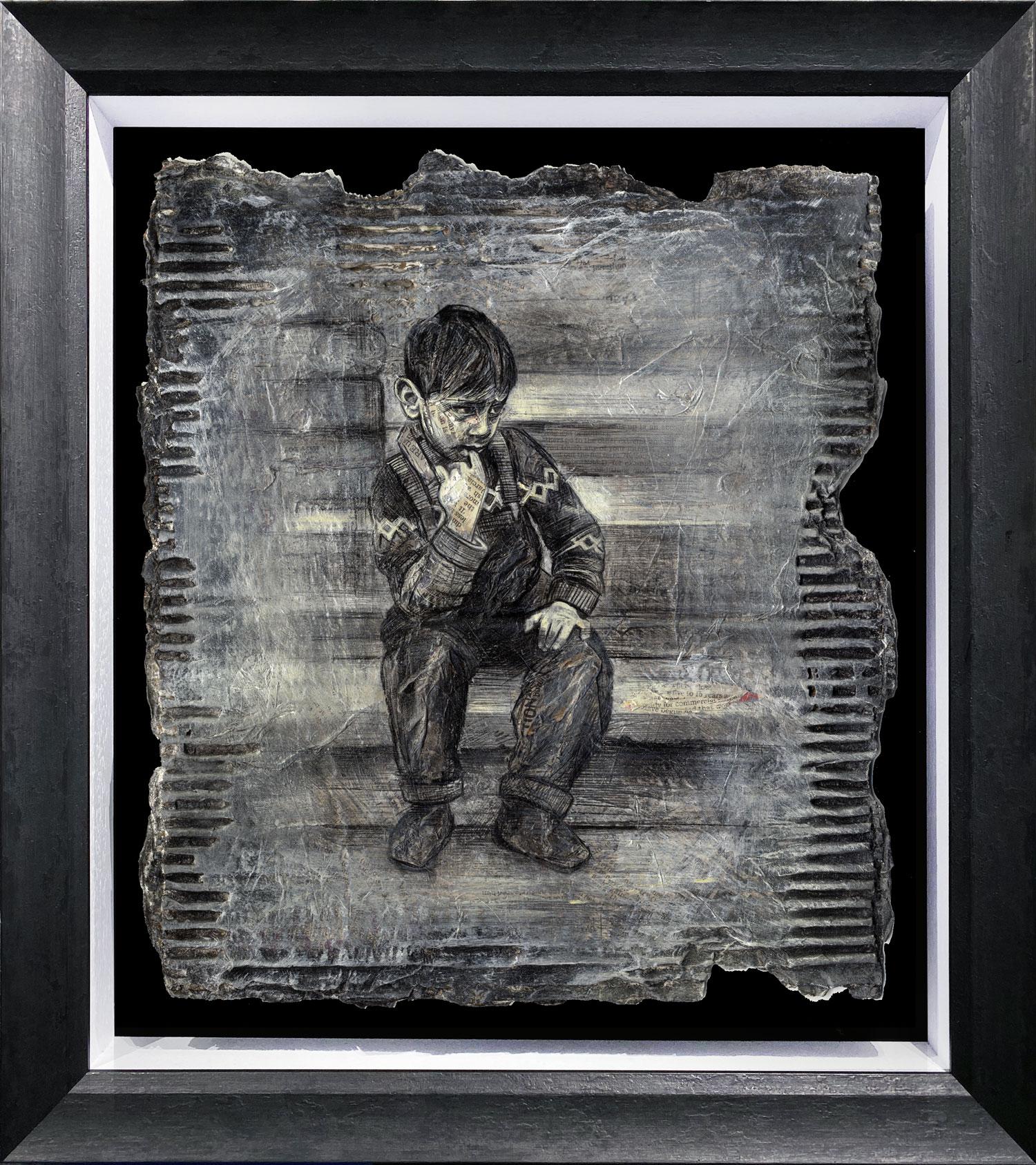 Craig Everett Chillin Original Painting for Sale