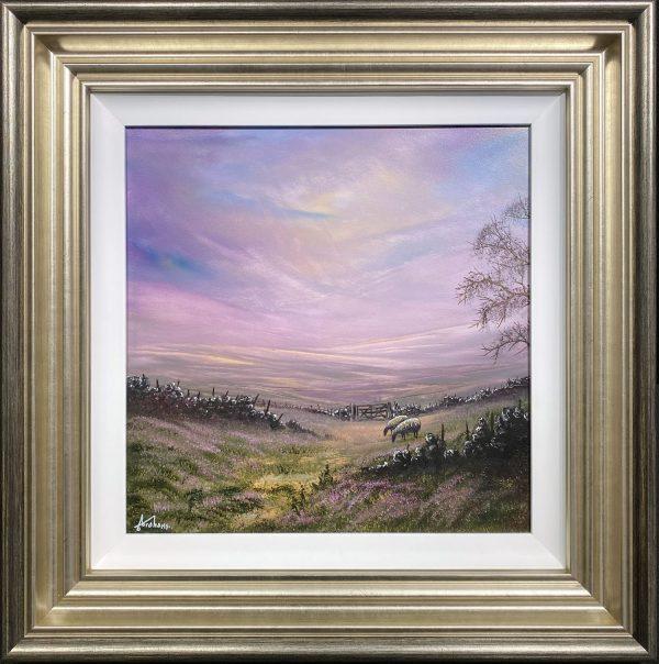 Danny Abrahams Original Painting A Calming Silence