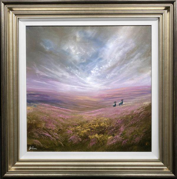 Danny Abrahams Original Painting Discover