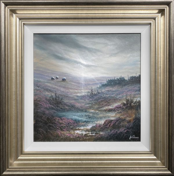 Danny Abrahams Original Painting Peace