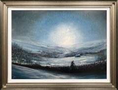 Danny Abrahams Original Painting Winter Memories