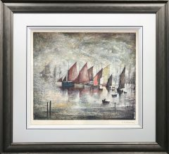 L.S Lowry Sailing Boats