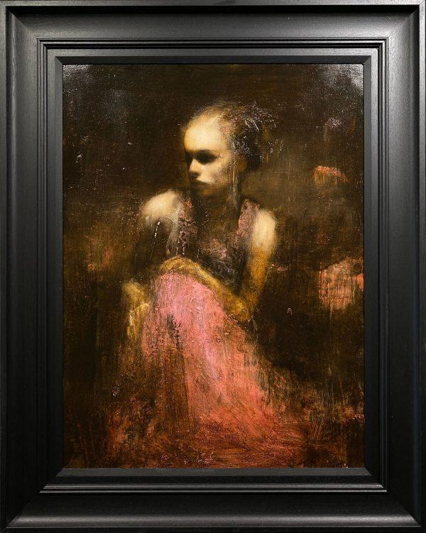 Mark Demsteader Study for Shadowlands II Original Oil Painting