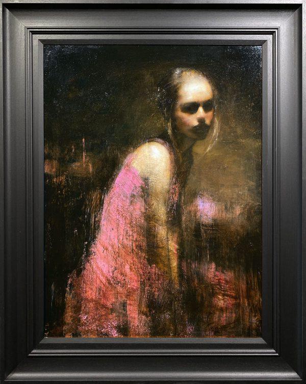 Mark Demsteader Study for Shadowlands Original Oil Painting