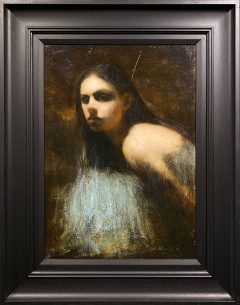 Mark Demsteader Study for the Bridge Original Oil Painting