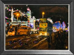 Ben Ark - Blackpool Original Mixed Media Artwork