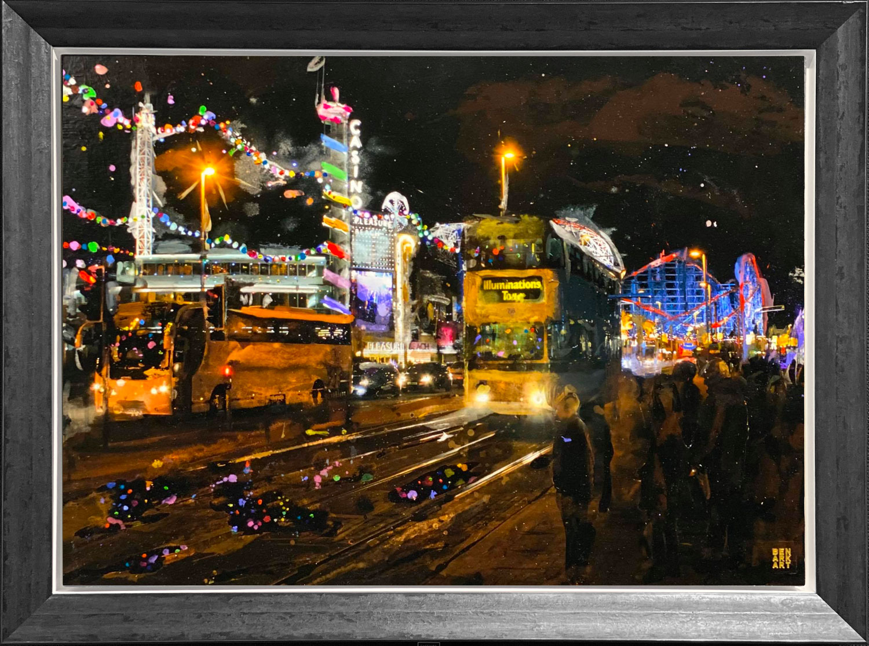Ben Ark - Blackpool Original Mixed Media Artwork