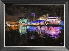 Ben Ark - Salford Quays, Beyond the Art Original Mixed Media Artwork