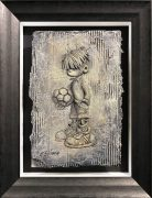 Craig Everett Ball Boy 3D Original Painting for Sale
