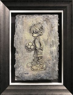 Craig Everett Ball Boy 3D Original Painting for Sale